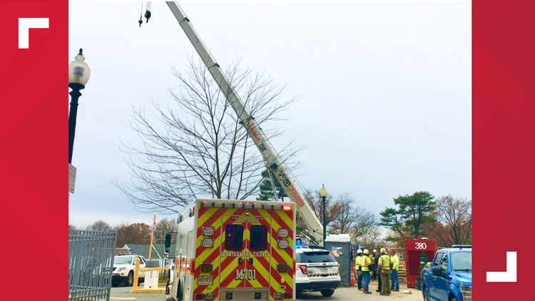 Silver Spring crane incident