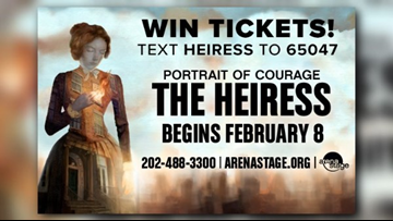 Win tickets to see The Heiress at Arena Stage