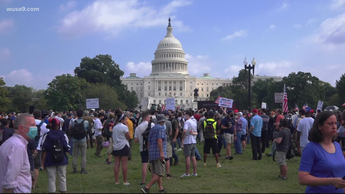 Hundreds attend revisionist 'Justice for J6' rally at US Capitol