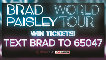 Win tickets to see Brad Paisley at Jiffy Lube Life