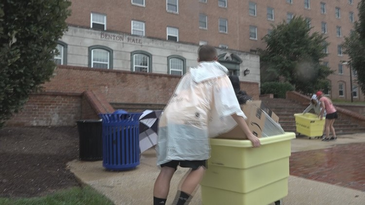 Students: It's still raining but University of Maryland dorms are now mold-free