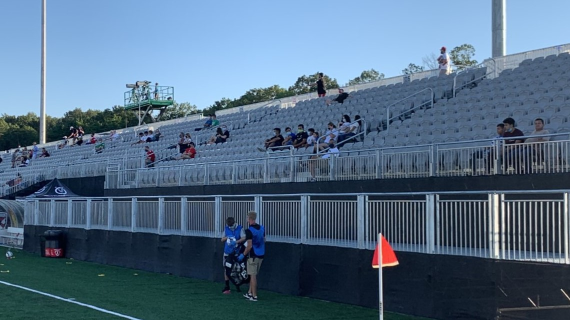 Soccer in Loudoun County is the first pro sporting event in the DMV region to have fans