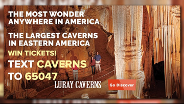 Win tickets to Luray Caverns