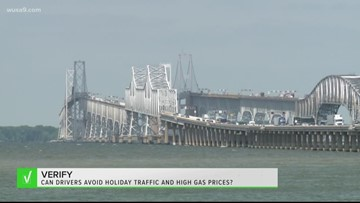 VERIFY: Can you avoid getting stuck in holiday traffic and also pay less at the pump this Memorial Day weekend?