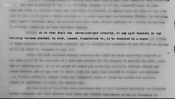 Locals work to identify segregationist deed agreements in Prince George's County