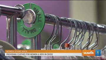 Local organization extends a hand to women and kids in crisis