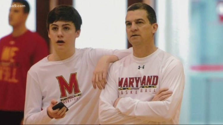 Division I father and Division III son share bond on and off the court