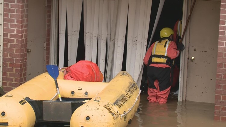 Nonprofit helps Rockville flood victims, gets $1,500 donation