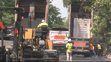 Stuck in DC traffic? The race is on to finish 40 miles of roadwork by fall