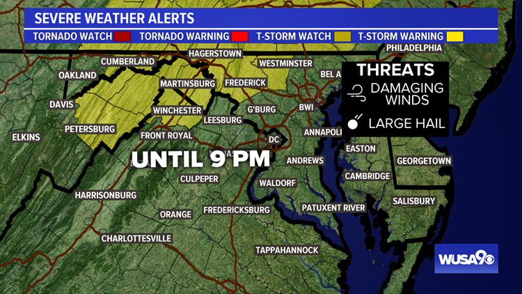 Severe Thunderstorm Watch: Damaging winds, large hail possible