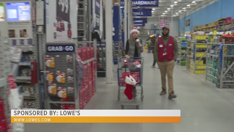 Take advantage of the Black Friday specials for holiday gifts at Lowe's