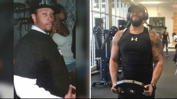This man lost more than 100 lbs. Now, he is working to help others get healthy