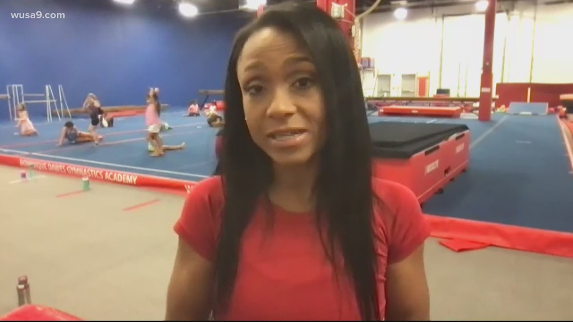 Dominique Dawes reacts to Simone Biles' decision to pull out of the Olympic gymnastics