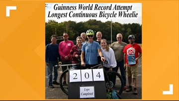 Maryland Man scores third possible Guinness World Record | #TheQandA
