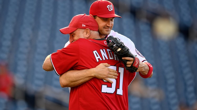 DC chef Jose Andres throws out first pitch at Washington Nationals game