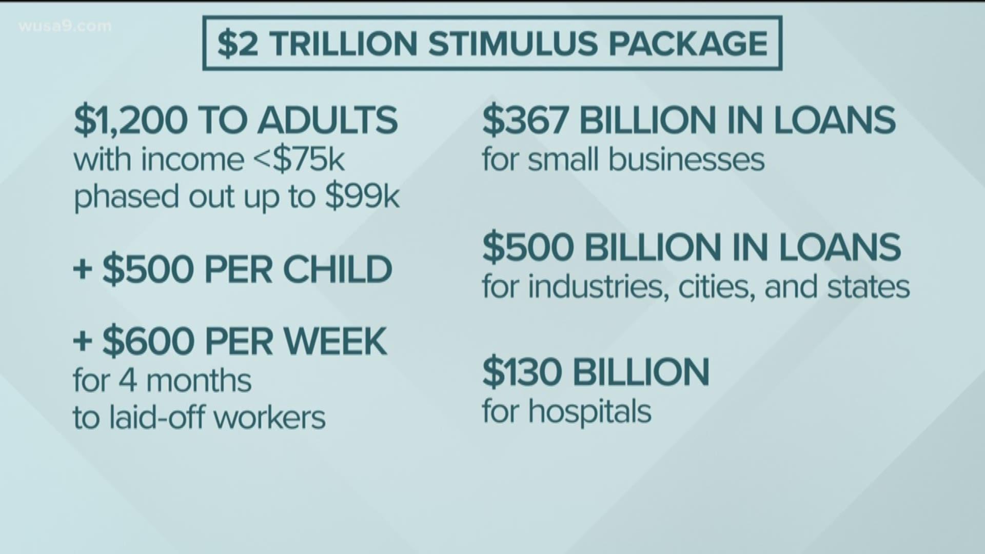 Maryland To Get 2 3 Billion In Coronavirus Stimulus Package Wusa9 Com