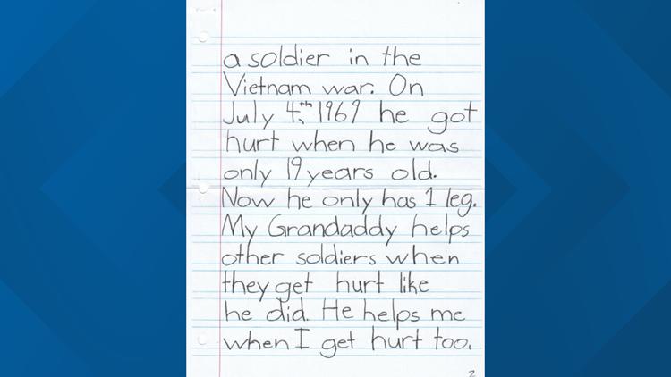 Lily Miller letter 2