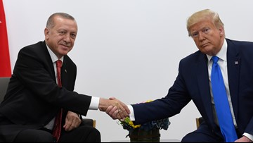Here are the expected road closures in DC during President Trump's meeting with Turkish President Recep Tyyip Erdogan