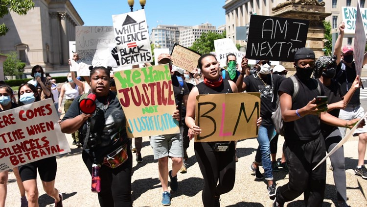 'We refuse to stop until we get that justice' | 23-year-old activist prepares for March on Washington