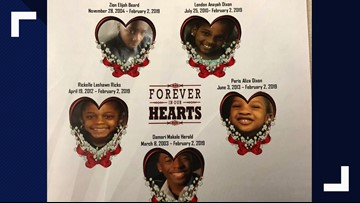 Funeral service held for 5 kids killed in Bowie crash