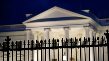 Person arrested after trying to cross security barrier next to White House