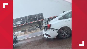 More than 50 cars pileup from I-68 crash due to fog, causing traffic delays