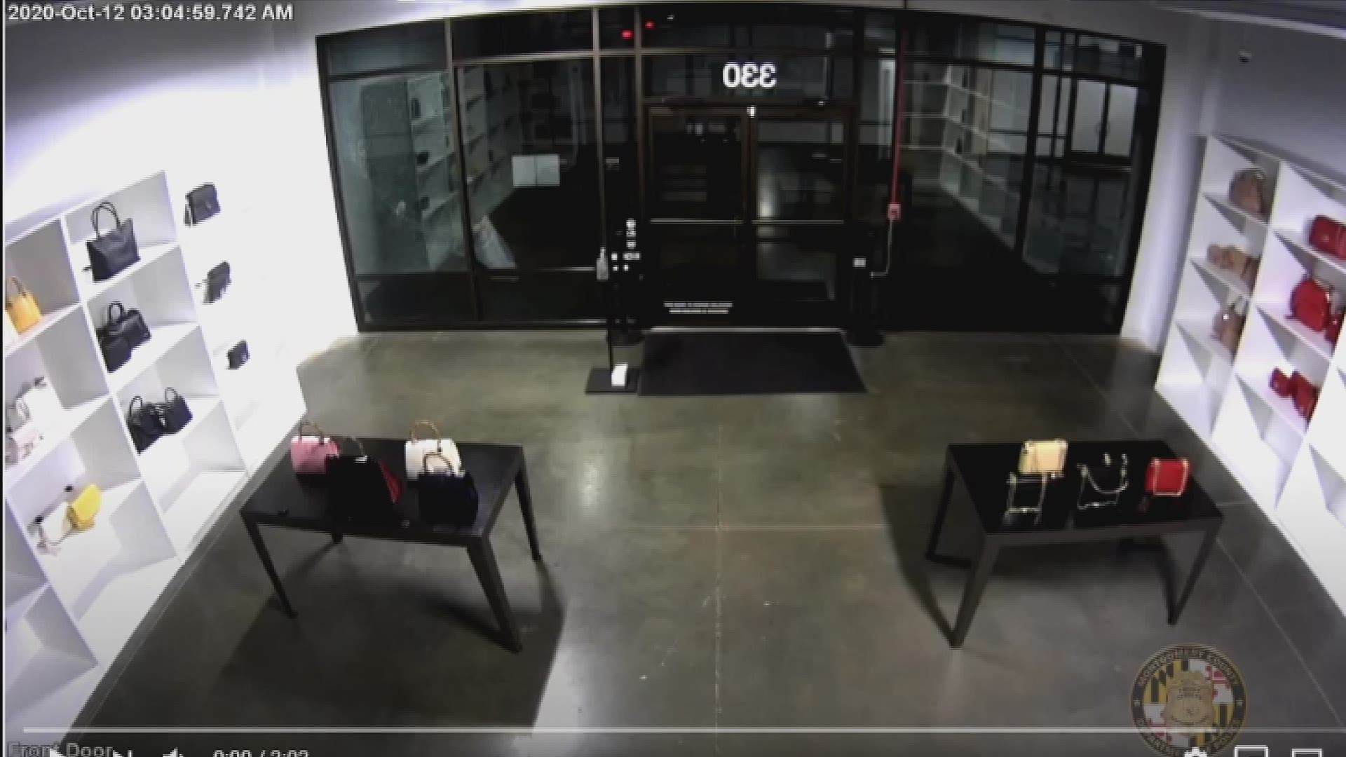 Gucci store robbery in Maryland, video shows suspects in act