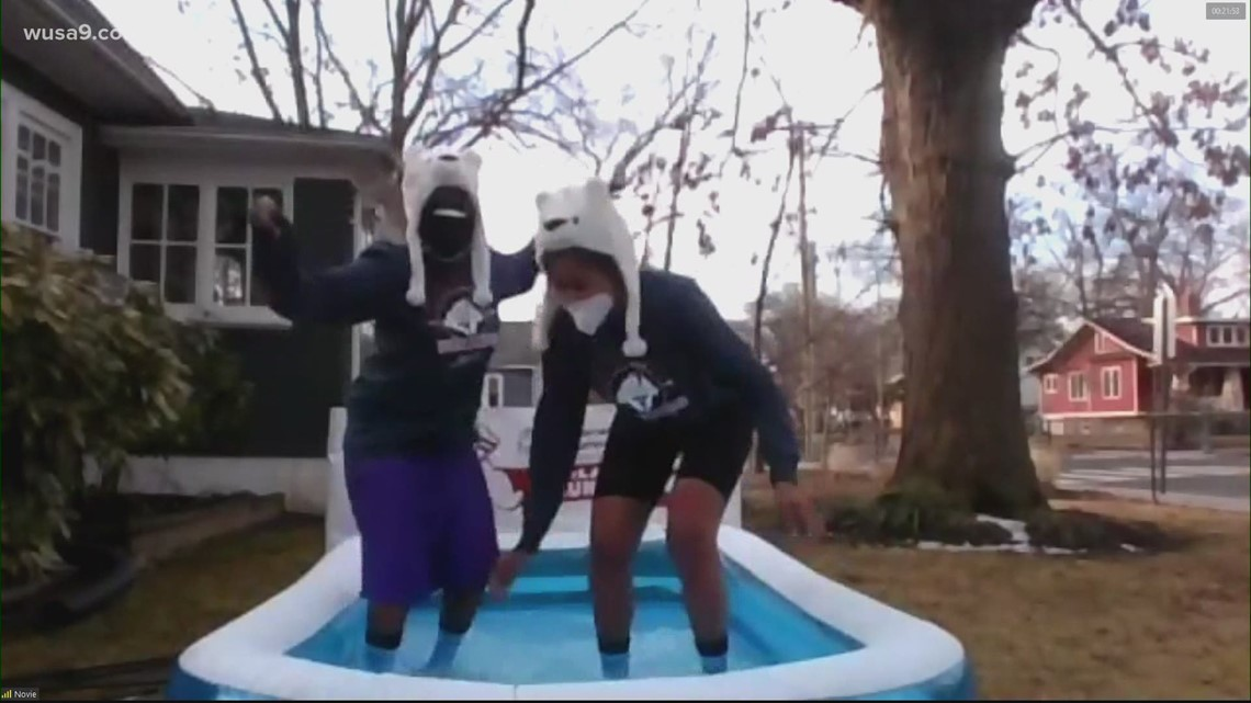 Polar Plunge from home to help Special Olympics DC