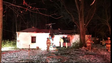 Person found dead after house fire in Alexandria