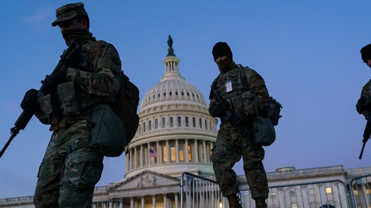 National Guard's funding deficit from insurrection response could prompt a possible shutdown