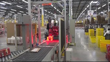 Progress on Amazon's new headquarters in DC area ahead of schedule