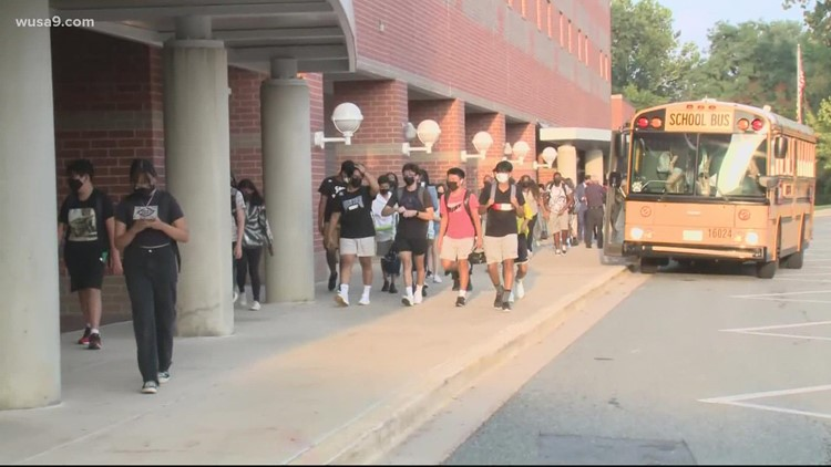 Rapid COVID-19 tests expected to arrive at Maryland's largest school district this week