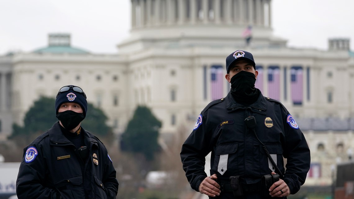 Capitol Police under orders not to use lethal force during riot