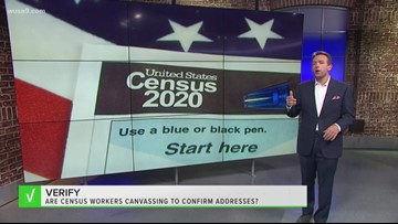 VERIFY: Yes, Census workers are address canvassing in neighborhoods. Here's how to know they're the real deal