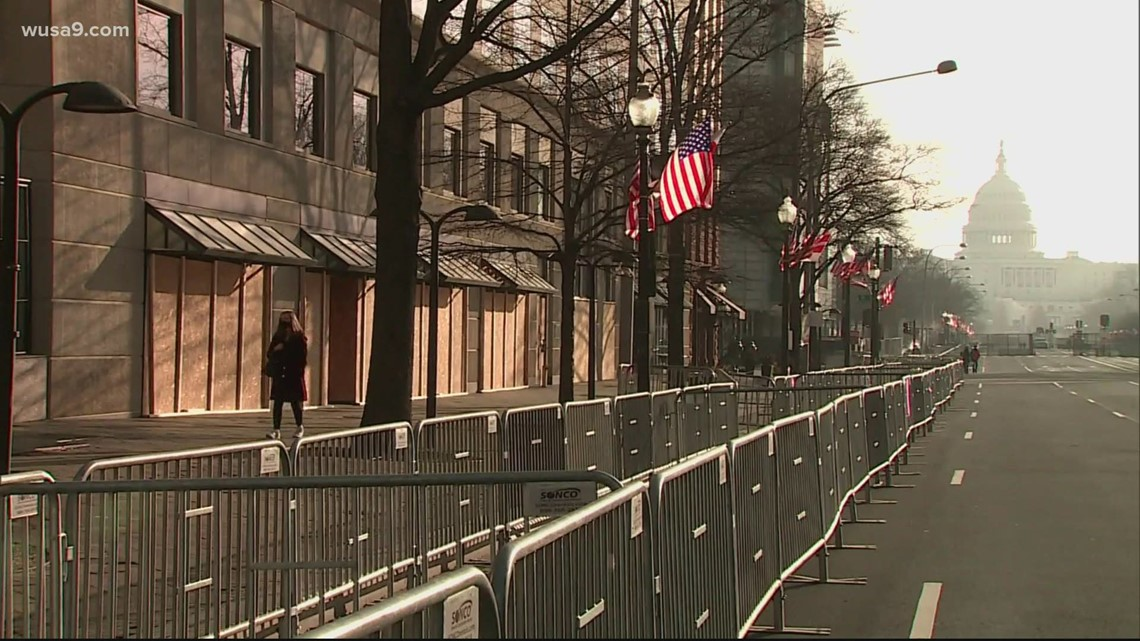 DC security measures in place ahead of Inauguration