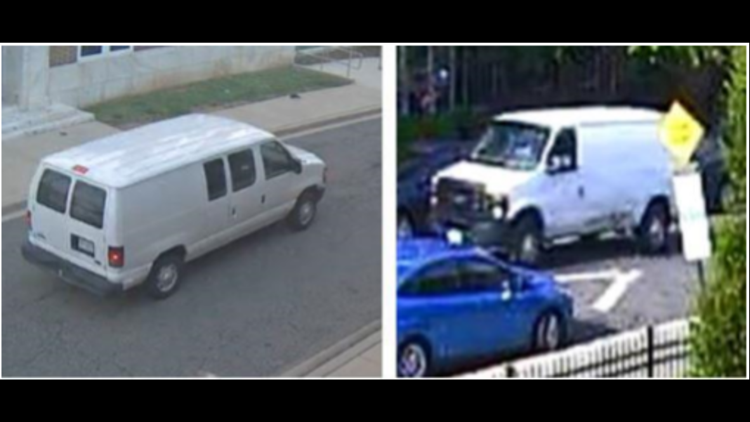 Police search for van that may be connected to a shooting in Northeast