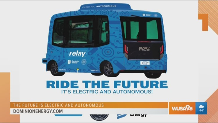 The first self-driving electric public shuttle in Virginia
