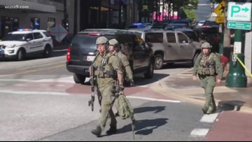 Video: Officer shot at Silver Spring garage 12 pm update