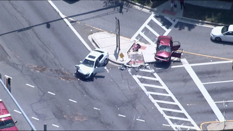 One in critical condition after collision in Accokeek Tuesday