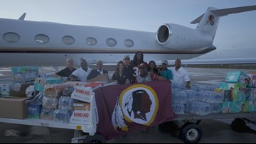 The Burgundy and Gold help with Hurricane Dorian relief in the Bahamas