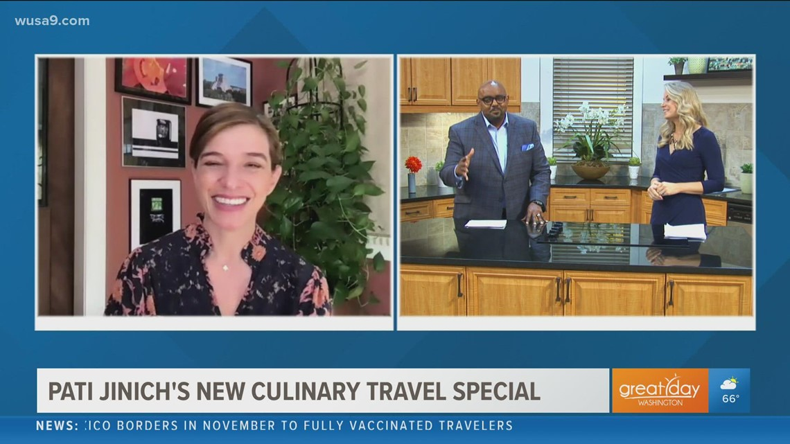 Award-winning chef Pati Jinich dishes on her new culinary travel special