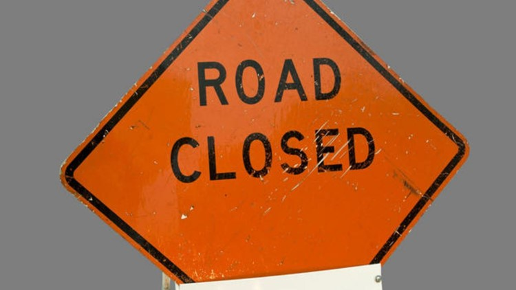 Several lanes closed on Euclid Avenue in Manassas due to downed utility pole