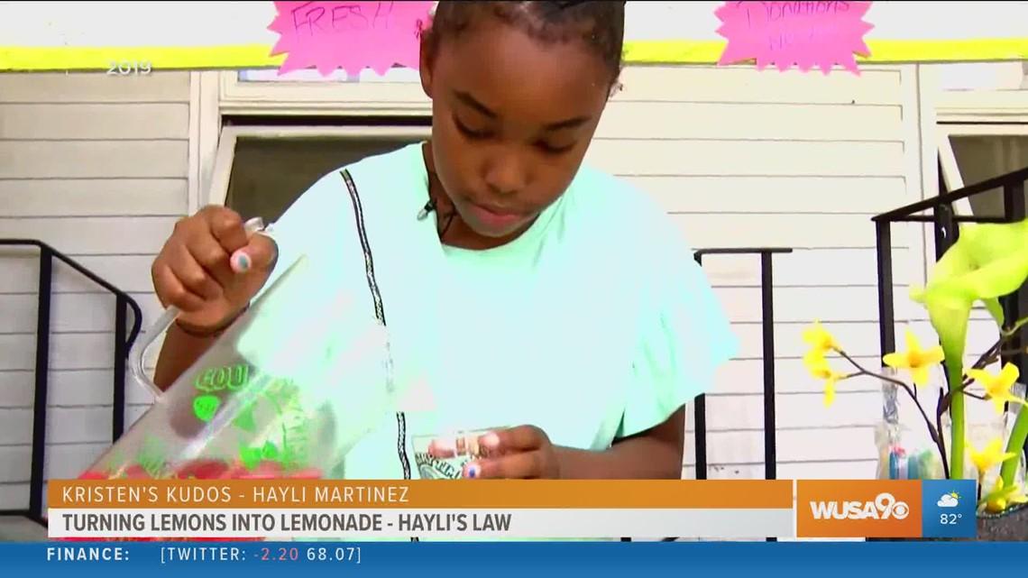 Turning lemons into lemonade: 13-year-old inspires new Hayli's Law