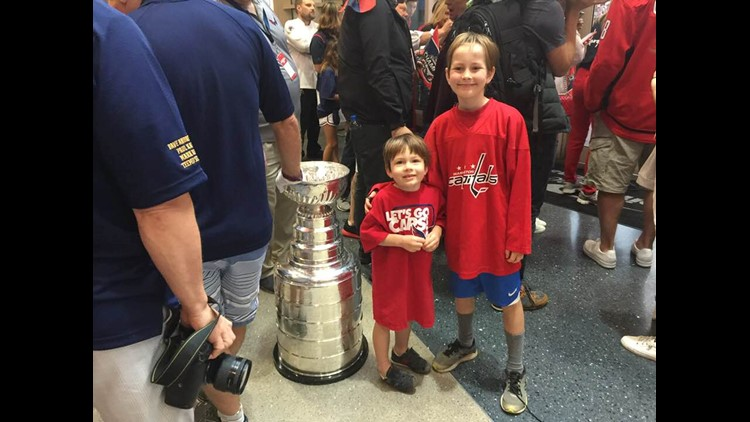 Kids with Cup