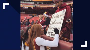 This scientist is Redskins' 2019 Pro Bowl cheerleader