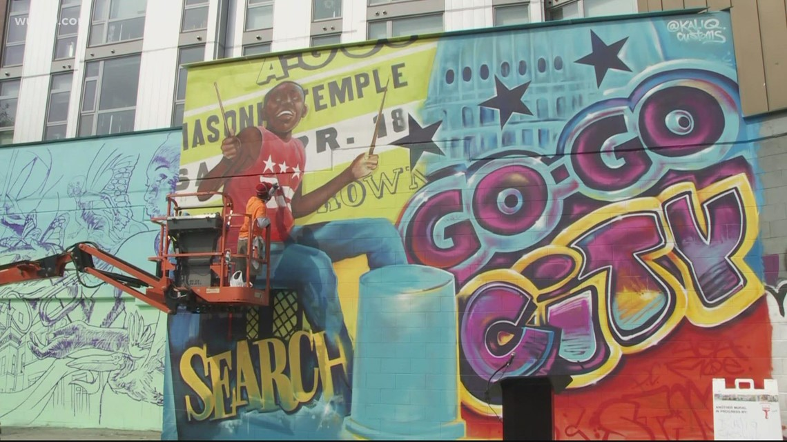 New mural celebrates DC's official music | It's A DC Thing