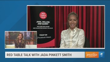 Jada Pinkett Smith previews Red Table Talk  with Demi Moore