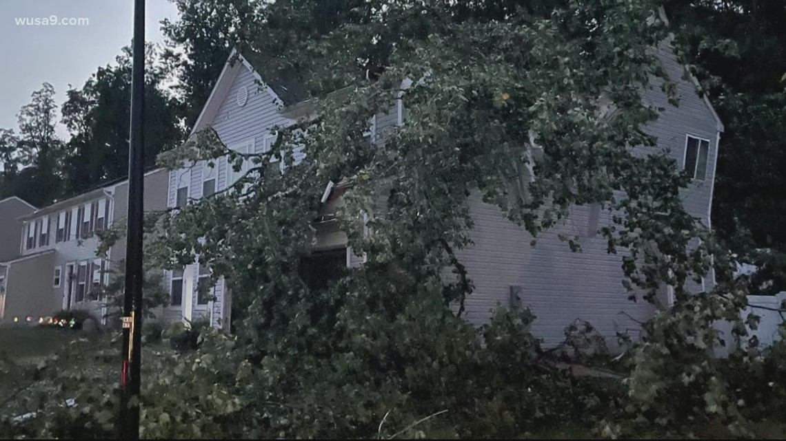 Thousands lose power, trees and power lines down after severe thunderstorms