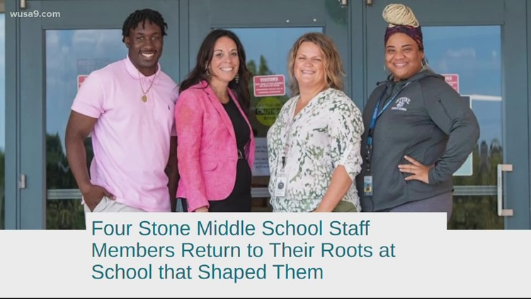 Fairfax County middle school hosts 'reunion' every day | Get Uplifted