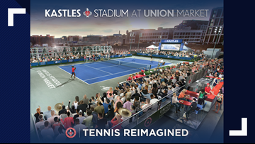 DC loves rooftops so much, it's putting a new tennis stadium on one